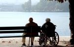 Wheelchair couple